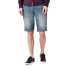Burton - Mid blue denim shorts