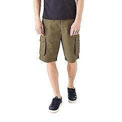 Burton - Khaki cargo shorts