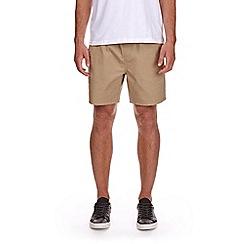 Burton - Stone drawstring shorts