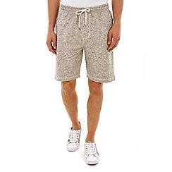 Burton - Grey jersey jogger shorts