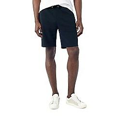 Burton - Navy ottoman jogger shorts