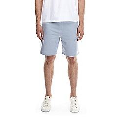 Burton - Light blue jersey shorts