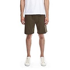 Burton - Khaki jersey shorts