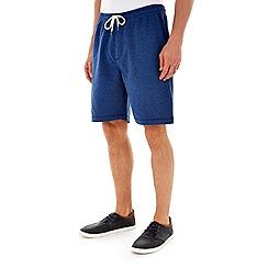Burton - Navy jersey jogger shorts