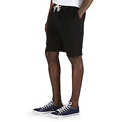 Burton - Black jogger shorts