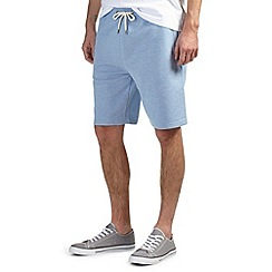 Burton - Pale blue jogger shorts