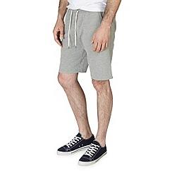 Burton - Grey marl jogger shorts