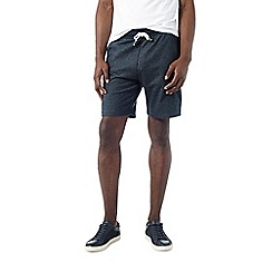Burton - Navy textured jogger shorts