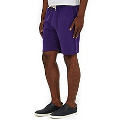 Burton - Purple jogger shorts