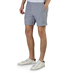 Burton - Blue oxford smart shorts