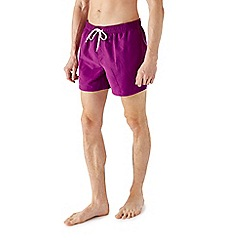 Burton - Purple basic swim shorts