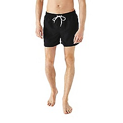 Burton - Black basic swim shorts