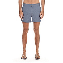 Burton - Light blue marl swim shorts