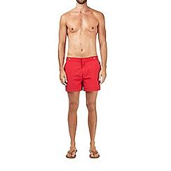 Burton - Red riviera swim shorts