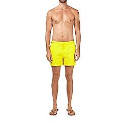 Burton - Yellow riviera swim shorts