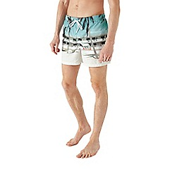 Burton - Photographic print swim shorts