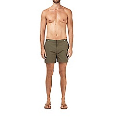 Burton - Khaki riviera swim shorts