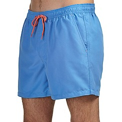 Burton - Blue basic swim shorts