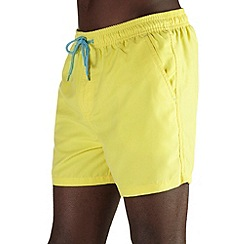 Burton - Yellow basic swim shorts