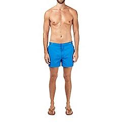 Burton - Mid blue riviera swim shorts