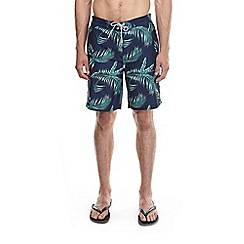 Burton - Leaf print board style swim shorts