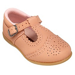 Chipmunks - Girls pale pink shoe