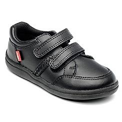 Chipmunks - Boys 'Cameron' black leather school shoe