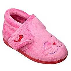 Chipmunks - Girls pink candy the cat slipper
