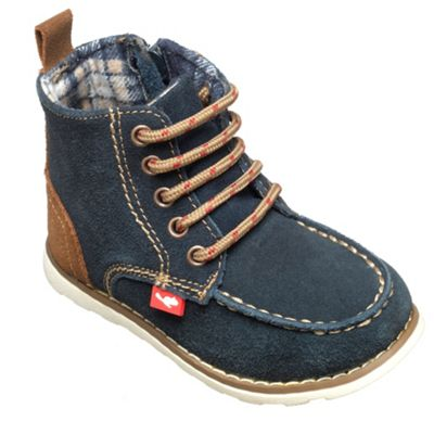 Chipmunks Boys navy ´cory´ ankle boot - . -