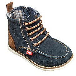 Chipmunks - Boys navy 'Cory' ankle boot
