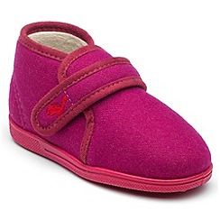 Chipmunks - Girls pink emme slipper