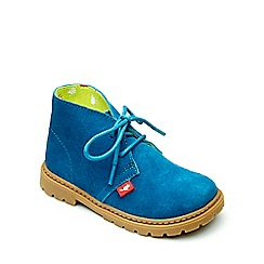 Chipmunks - Boys' blue suede 'Carter' boot