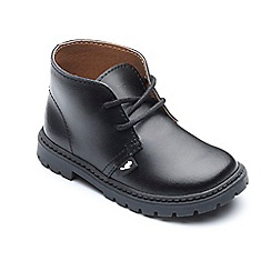 Chipmunks - Boys' black 'Carter' boots