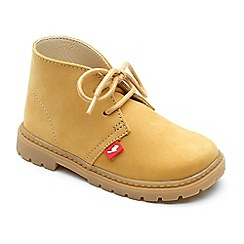 Chipmunks - Boys' tan 'Carter' boots