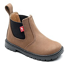 Chipmunks - Boys' tan 'Ranch' boots