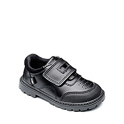 Chipmunks - Boys black 'Daniel' shoe