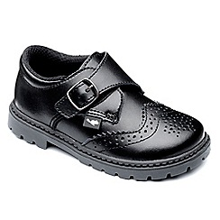 Chipmunks - Boys black 'Henry' shoe