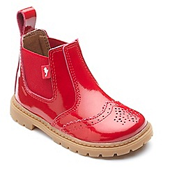 Chipmunks - Girls' red 'Riley' boots