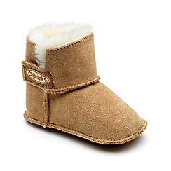 Chipmunks - Babies tan 'Jojo' boot