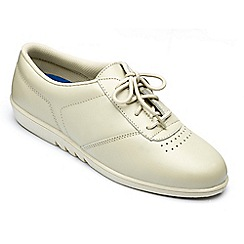 Freestep - Freestep ladies 'treble' shoe in stone leather