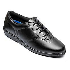 Freestep - Freestep ladies 'treble' shoe in black leather