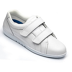Freestep - Freestep ladies 'rex' shoe in white leather