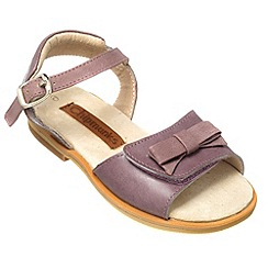 Chipmunks - Girls purple' Freya' sandal