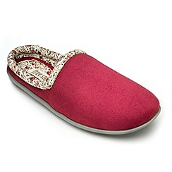 Freestep - Rose microsuede ladies slipper