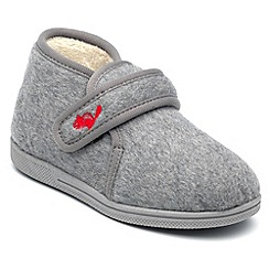 Chipmunks - Boys grey isaac slipper