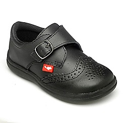 Chipmunks - Boys black Jacob shoe.