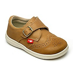 Chipmunks - Boys tan Jacob shoe.