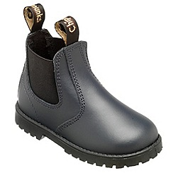 Chipmunks - Boys navy jodhpur style boot