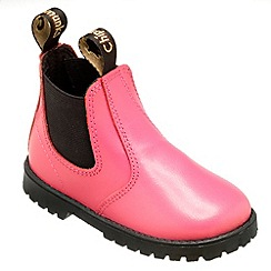 Chipmunks - Girls pink jodhpur style boot