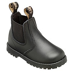 Chipmunks - Boys black jodhpur style boot